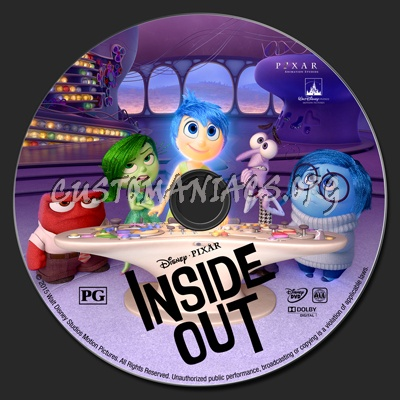 inside out dvd label dvd covers labels by customaniacs id 224910 free download highres dvd. Black Bedroom Furniture Sets. Home Design Ideas