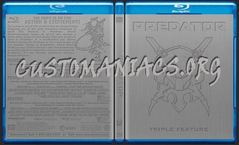 Predator Triple Feature blu-ray cover