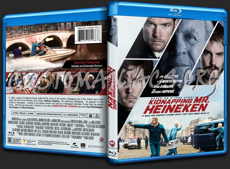 Kidnapping Mr Heineken blu-ray cover