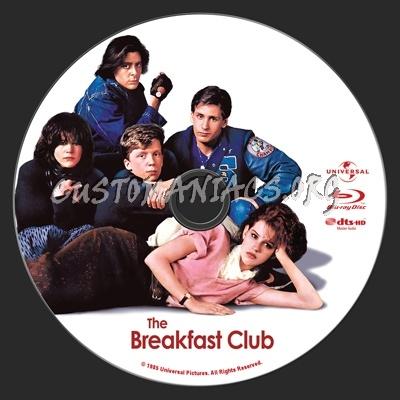 The Breakfast Club blu-ray label