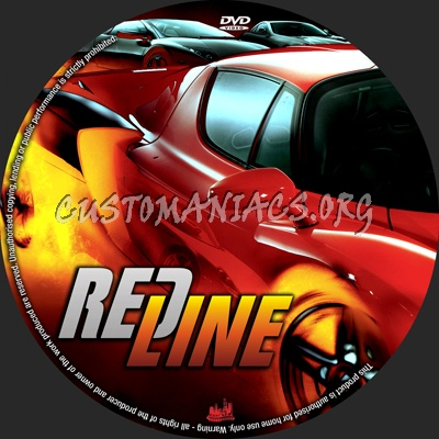 Redline dvd label