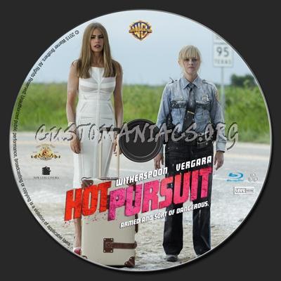 Hot Pursuit blu-ray label