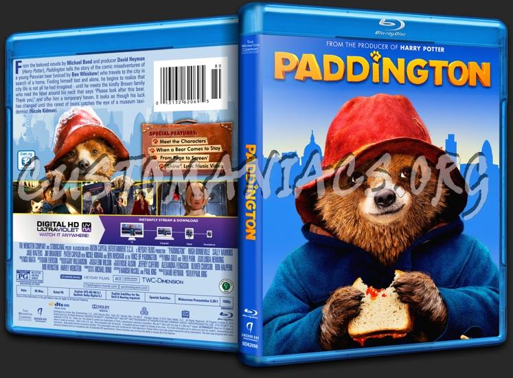 Paddington blu-ray cover