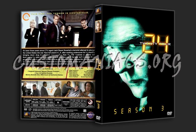 24 Seasons 1-9 dvd cover