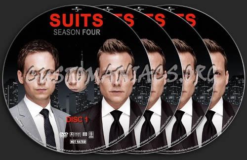 Suits - Season 4 dvd label
