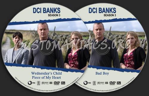 DCI Banks - Season 3 dvd label