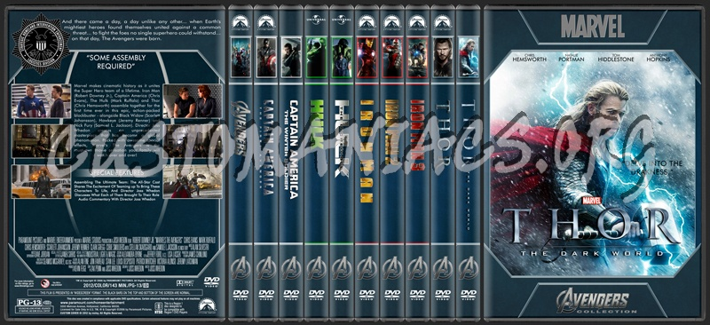 Avengers Collection dvd cover