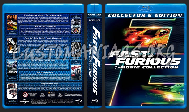 fast and furious 6 movie collection blu ray
