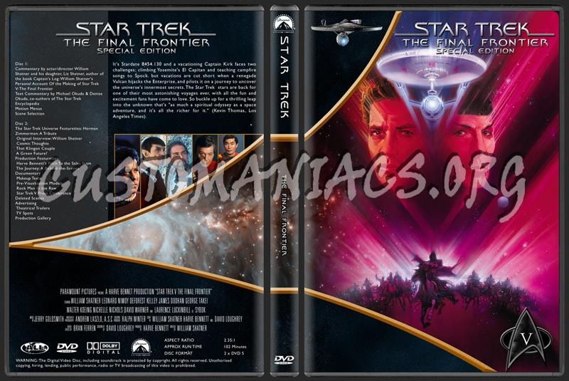 Star Trek Movie Collection dvd cover