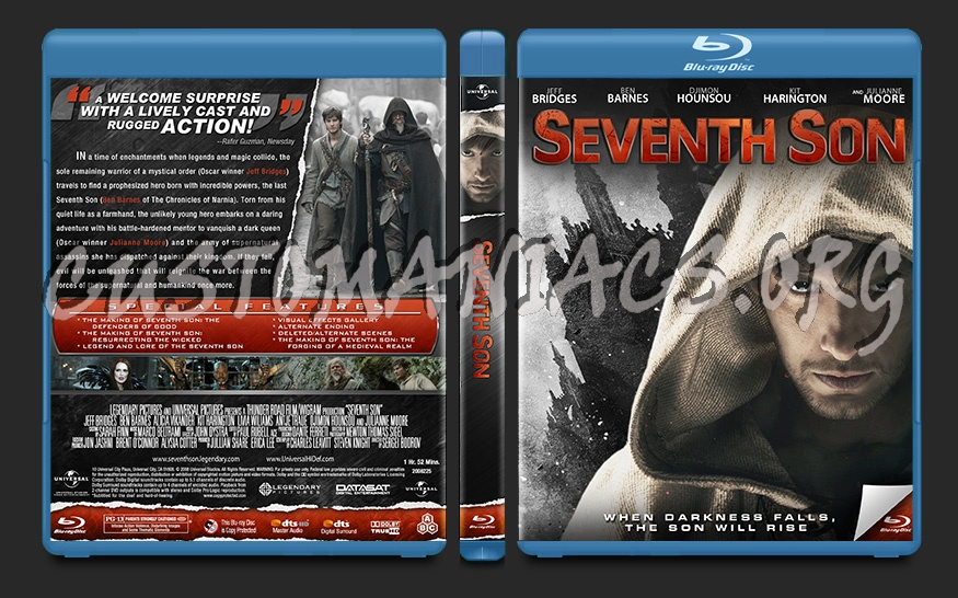 Seventh Son blu-ray cover