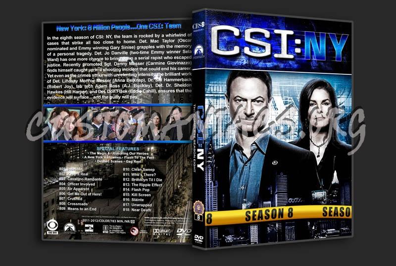 CSI: NY - Seasons 1-9 (3240x2175) dvd cover