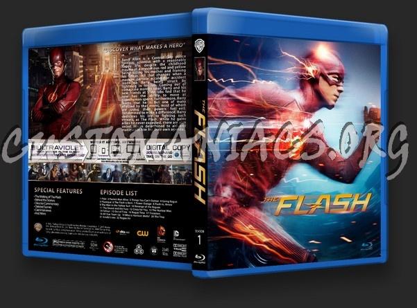 The Flash Season 1 blu-ray cover