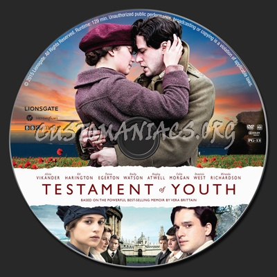 Testament of Youth dvd label