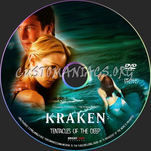 Kraken:Tentacles of the Deep dvd label