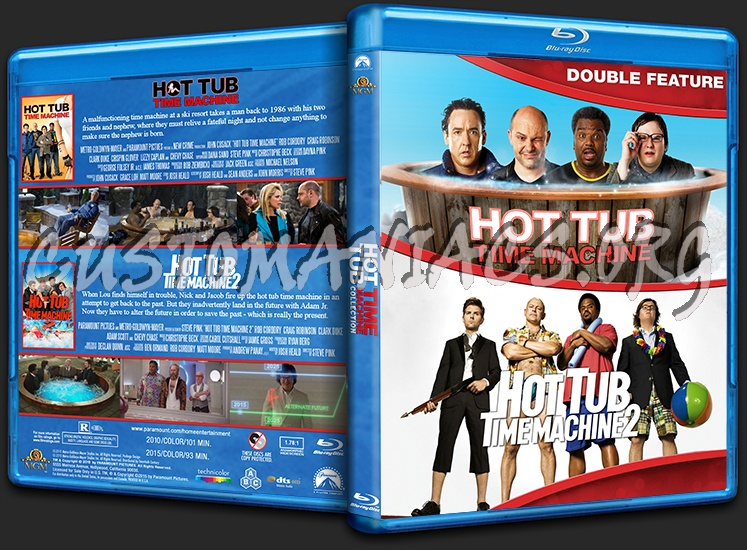 Hot Tub Time Machine Collection blu-ray cover