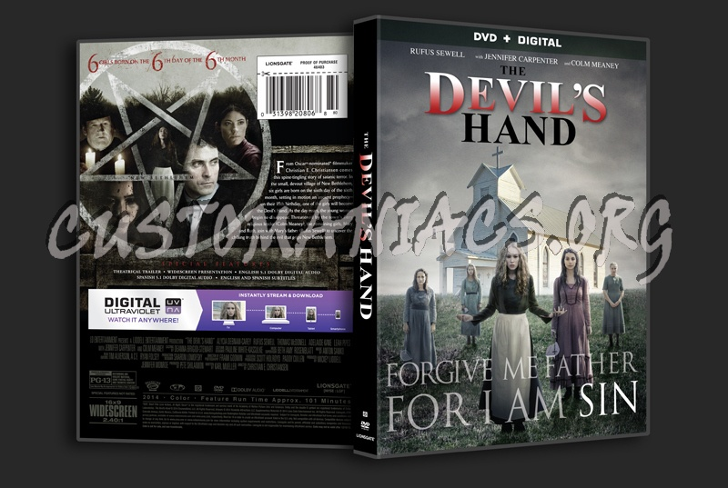 The Devil's Hand dvd cover