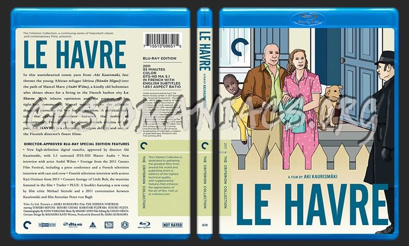 619 - Le Havre blu-ray cover
