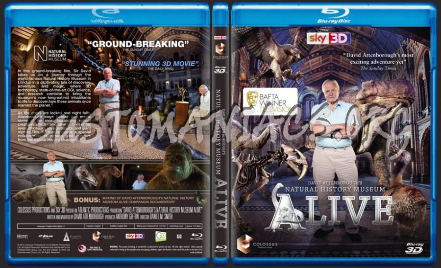 David Attenborough Natural History Museum Alive Dvd
