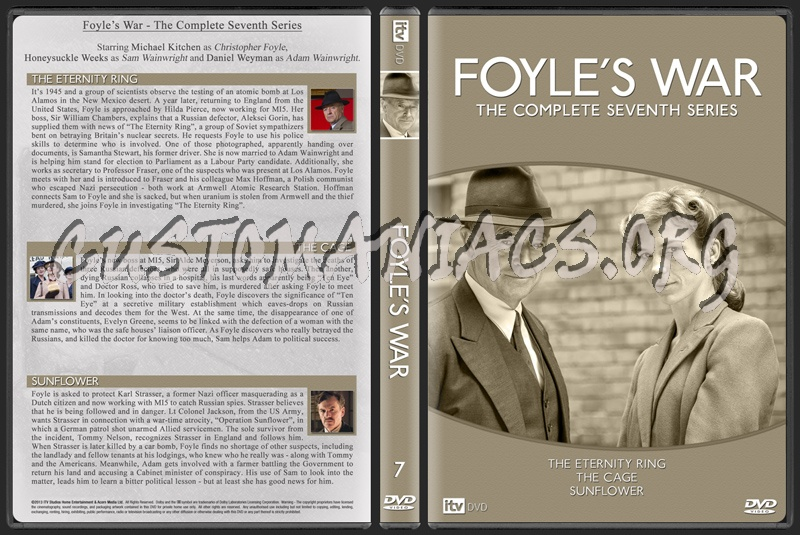 Foyle's War dvd cover