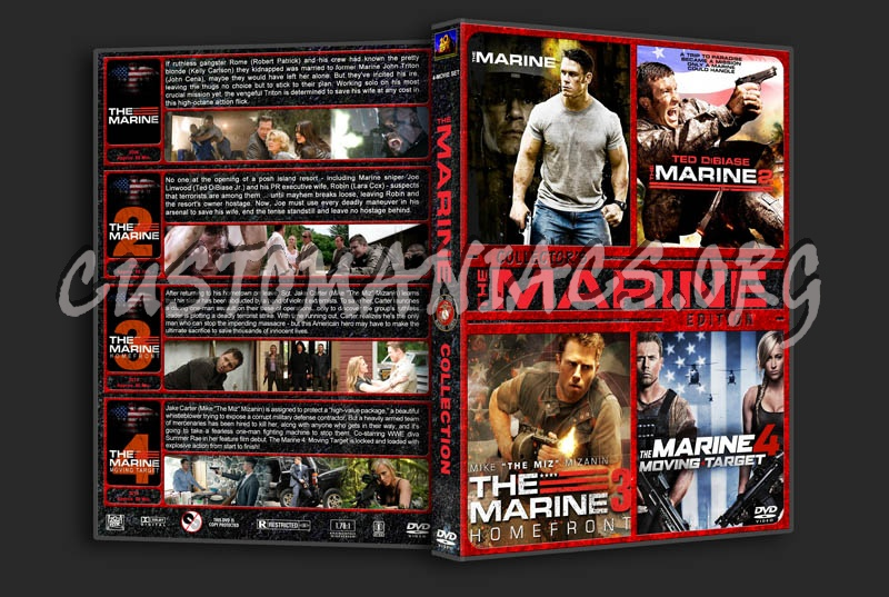 The Marine Collection dvd cover