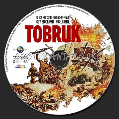 Tobruk dvd label