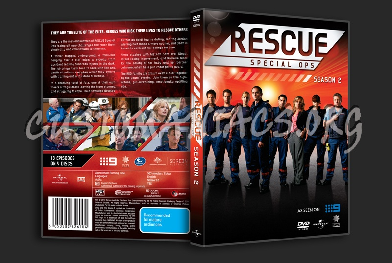 Rescue Special Ops Season 2 dvd cover