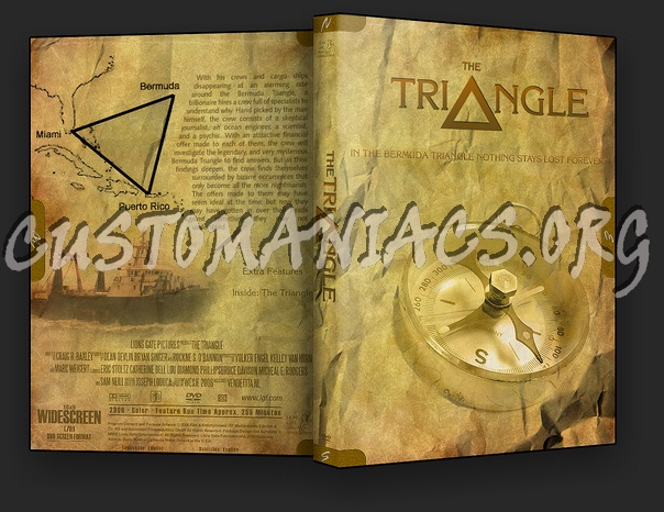 The Triangle dvd cover