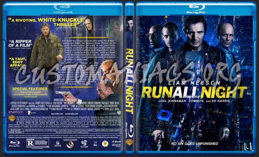 Run All Night blu-ray cover