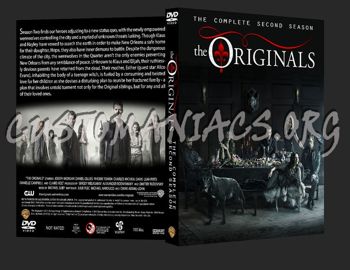 The Originals: Season Two dvd cover