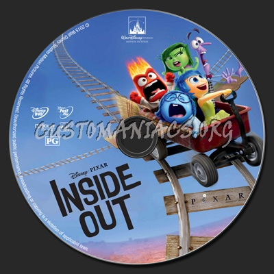 inside out dvd label dvd covers labels by customaniacs. Black Bedroom Furniture Sets. Home Design Ideas