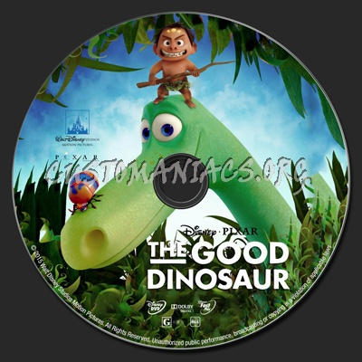 The Good Dinosaur Dvd Cover
