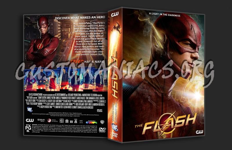 The Flash season 1 dvd cover