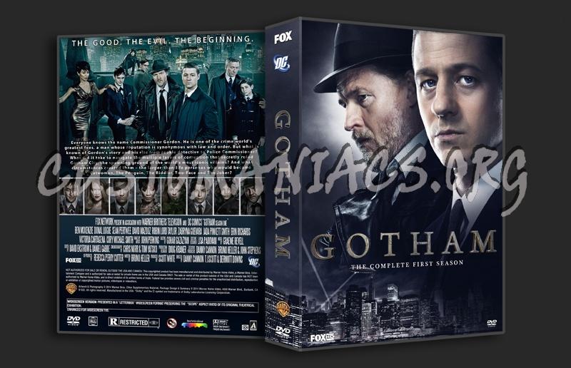 Gotham Season One dvd cover