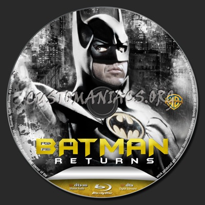 Batman Returns blu-ray label - DVD Covers & Labels by ...