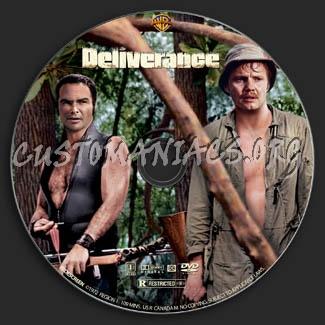 Deliverance dvd label