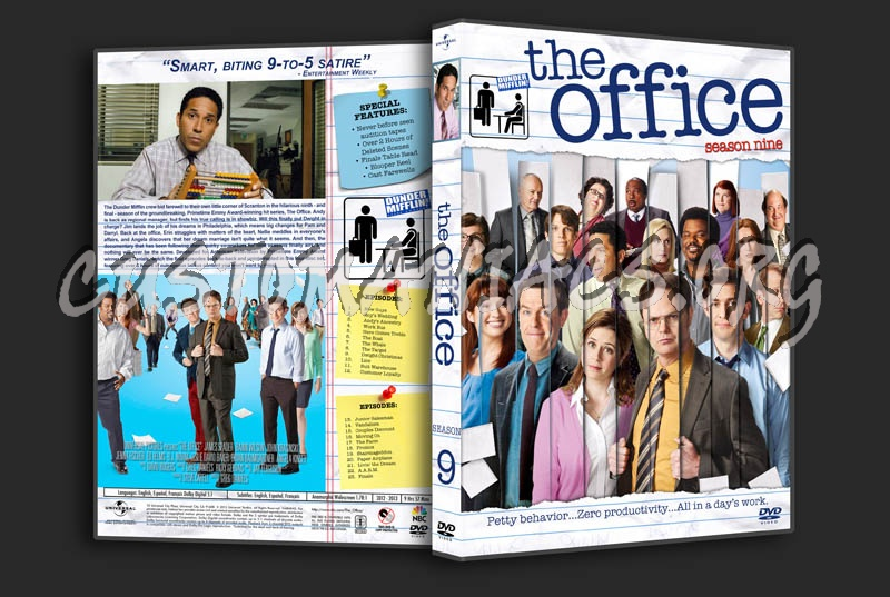 The Office - Seasons 1-9 dvd cover