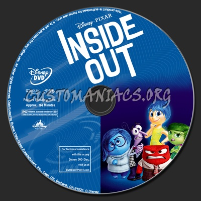 inside out dvd label dvd covers labels by customaniacs id 227088 free download highres dvd. Black Bedroom Furniture Sets. Home Design Ideas