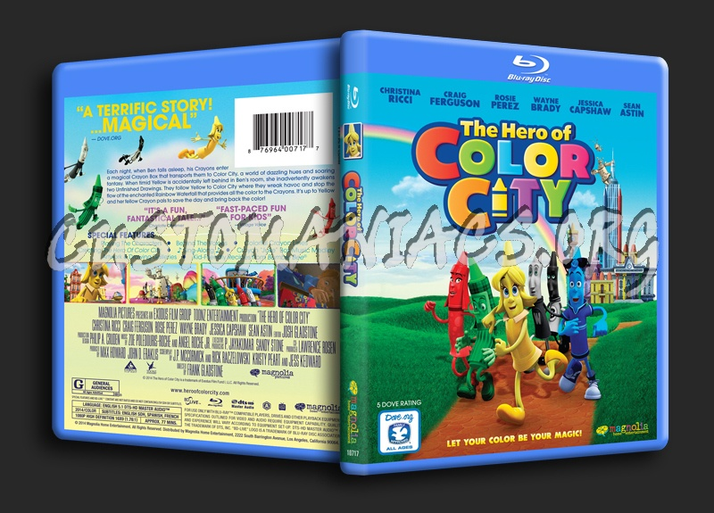 The Hero of Color City blu-ray cover