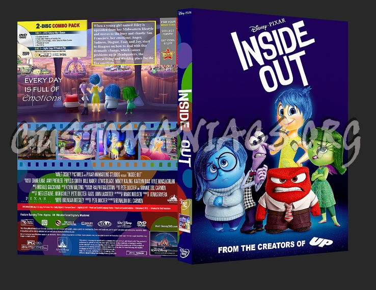 inside out dvd cover dvd covers labels by customaniacs. Black Bedroom Furniture Sets. Home Design Ideas
