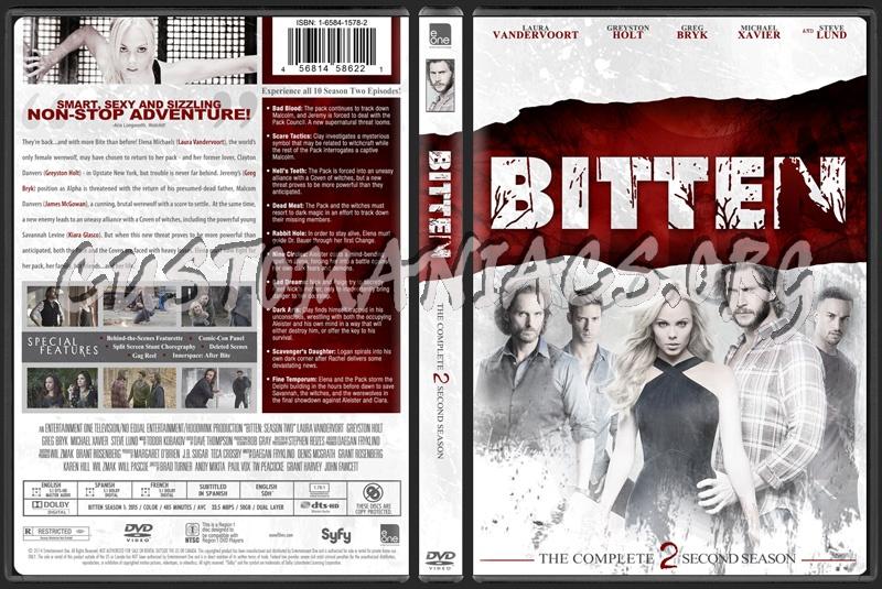 Bitten Season 2 dvd cover