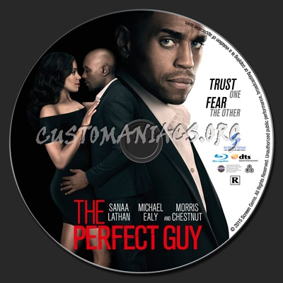 The Perfect Guy blu-ray label