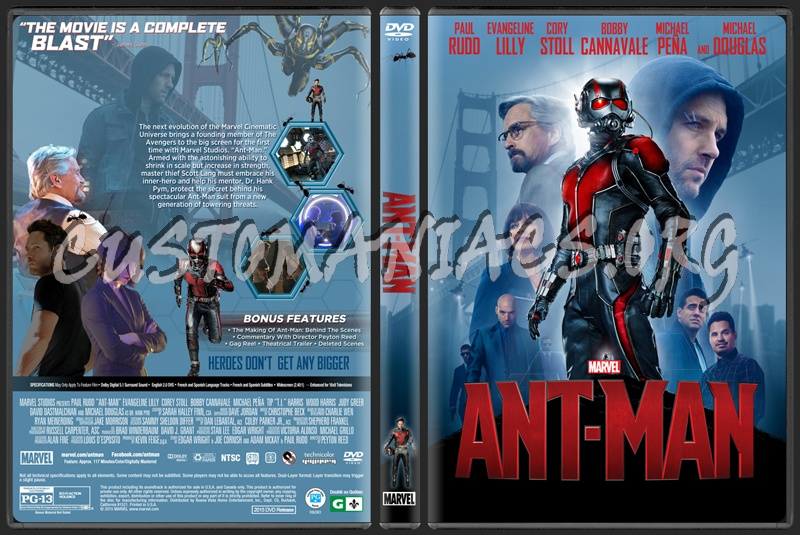 Ant-Man dvd cover