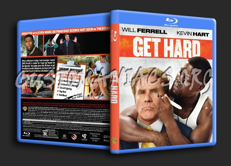 Get Hard blu-ray cover