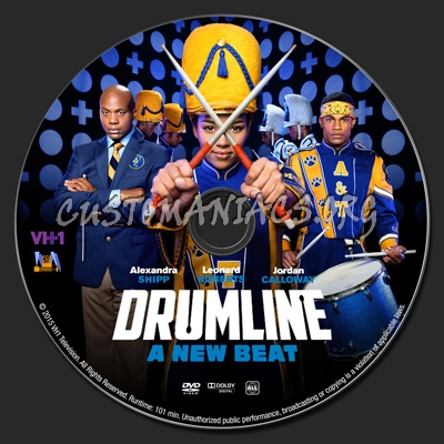 Drumline: A New Beat dvd label