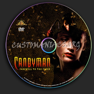 Candyman 2: Farewell to the Flesh dvd label