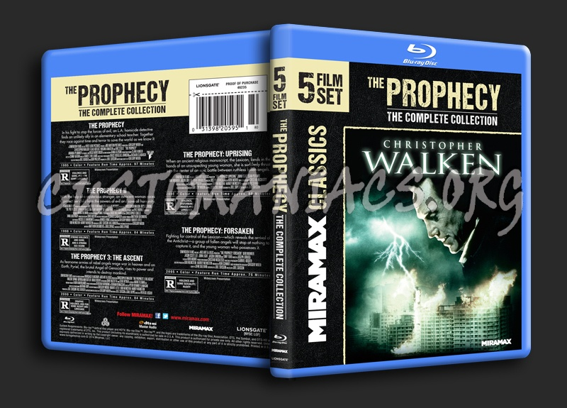 The Prophecy Collection blu-ray cover