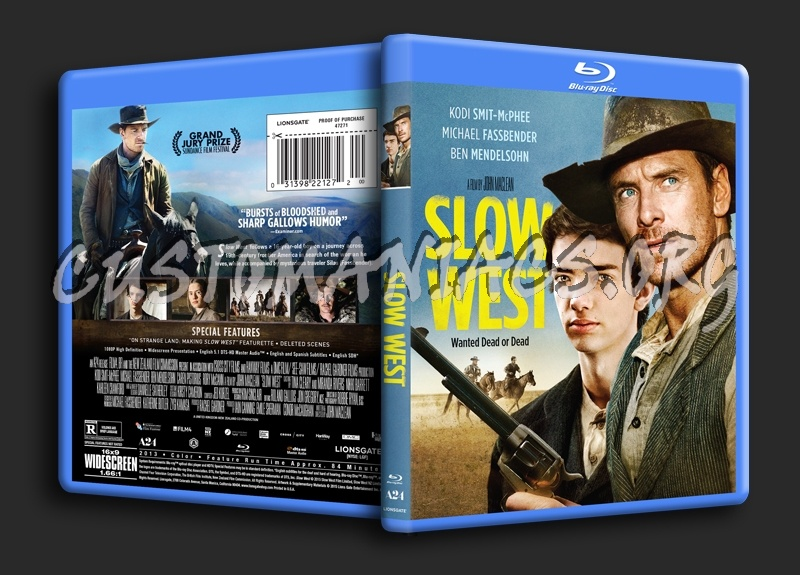 Slow West blu-ray cover