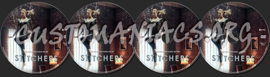 Stitchers Season 1 dvd label