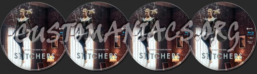 Stitchers Season 1 blu-ray label