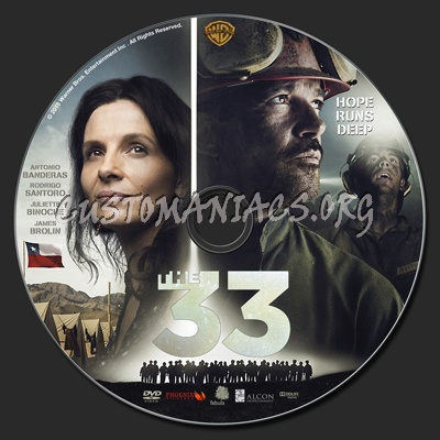 The 33 dvd label